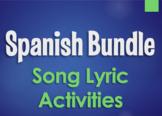 Spanish Bundle:  Song Lyrics by Topic