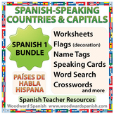 Spanish Bundle – Spanish-speaking Countries and Capitals