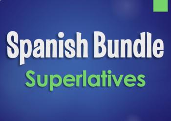 Spanish Bundle:  Superlatives