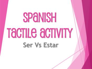 Spanish Bundle:  Tactile Activities