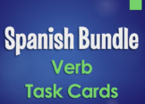 Spanish Bundle:  Verb Conjugation Task Cards
