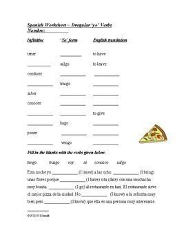 Spanish Bundle Present Tense Verbs: 8 Worksheets @35% 0ff!