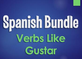 Spanish Bundle: Verbs Like Gustar