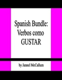 Spanish Bundle - Verbs like GUSTAR