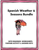 Spanish Mini Bundle: Weather and Seasons - 2 Readings and 1 Handout!