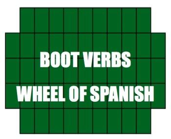 Spanish Bundle:  Wheel of Spanish Games