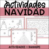 Spanish CHRISTMAS Activities - Actividades para Navidad en