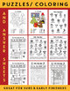 Spanish CHRISTMAS BUNDLE (Navidad & Invierno) Puzzles, Flash Cards, Worksheets