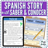 Spanish CI Story | featuring Saber and Conocer
