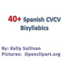 40+ Spanish CVCV Words