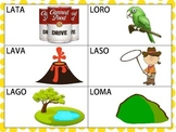Spanish CVCV Words with /l/ Sound in the Initial Position