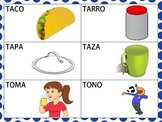 Spanish CVCV Words with /t/ Sound in the Initial Position