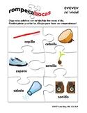 Spanish CVCVCV initial /s/ articulation word list