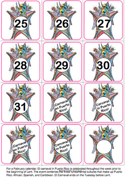 Spanish Calendar Bulletin Board Set