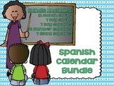 Spanish Calendar Bundle (Days, Months, 1-31) / Español Calendario (Días, Meses)