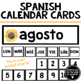 Spanish Months and Days - Spanish Calendar Cards - Waterco