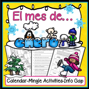 Spanish New Year/ January Activities (Actividades para enero)