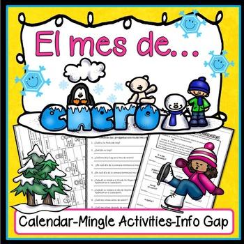 Spanish January Fun Pack (Actividades para enero)