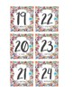 Spanish Calendar Numbers and Years - Otomi Theme