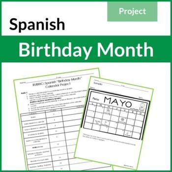 Spanish Calendar Project