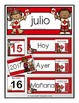 Spanish Calendar Set for July - Canada Day theme (for pock