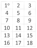 Spanish Calendar/Weather Bulletin Board: Date Cards