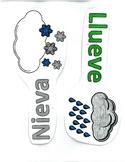 Spanish Calendar/Weather Bulletin Board: Weather (el tiempo)