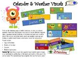 Spanish Calendar & Weather Visuals for Classroom!