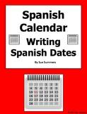 Spanish Calendar Writing 15 Spanish Dates Worksheet