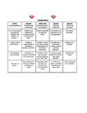 Spanish Calendar Writing Prompts / Sentence Starters
