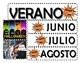 Spanish Calendar for magnetic board