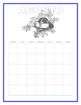 Spanish Calendars- Fun Way to Learn Days of the Week, Numbers & Holidays