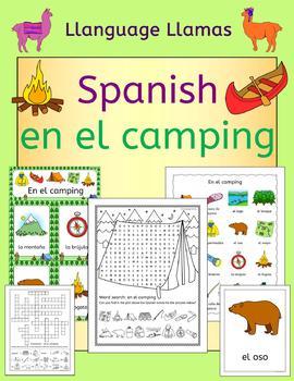 Spanish Camping Summer Resource Pack