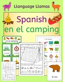 Spanish Camping Summer Resource Pack