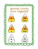 Spanish Candy Corn Alphabet