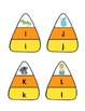 Spanish Candy Corn Alphabet