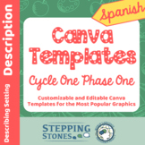 Spanish Canva Template Links for Cycle One Phase One Stepp