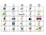Spanish Summer Road Trip Bingo -Great for Classes, Families & Beginning Learners