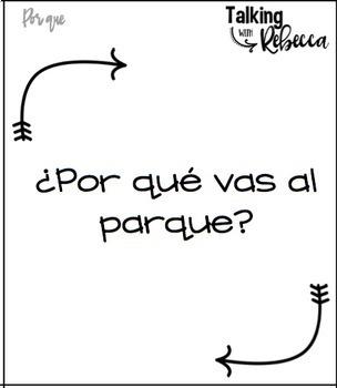 No Prep Expressive Language Spanish Card Decks volume 2