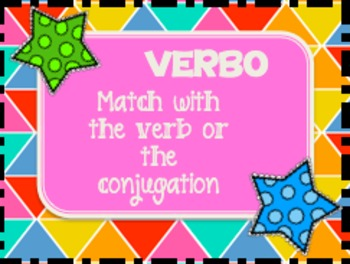 Spanish Card Game: Verbo for -ER and -IR Verbs