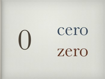 Spanish Cardinal Numbers 1 to 100 - Powerpoint Presentatio