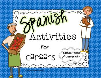 Spanish Careers Activities