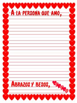 Spanish: Cartas Amorosas...