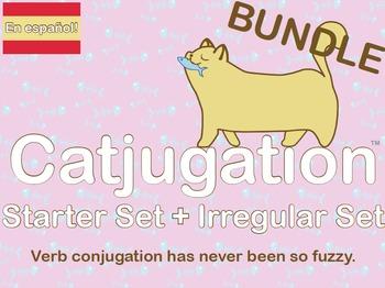 Spanish Catjugation: Bundle Starter and Irregular Verb Con