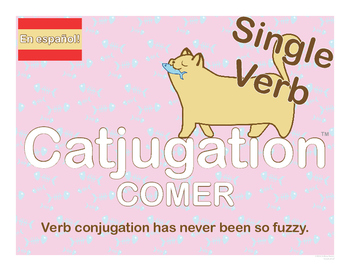 Spanish Catjugation: Single Verb COMER Conjugation