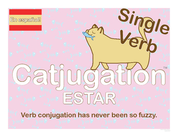 Spanish Catjugation: Single Verb ESTAR Conjugation