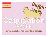 Spanish Catjugation: Single Verb HACER Conjugation