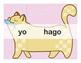 Spanish Catjugation: Single Verb HACER Conjugation