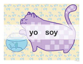 Spanish Catjugation: Single Verb SER Conjugation