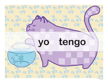 Spanish Catjugation: Single Verb TENER Conjugation